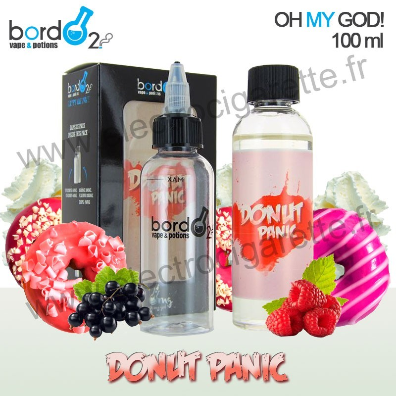 Recharge E-Liquide Donut Panic - Bordo2 - Oh My God - ZHC ...