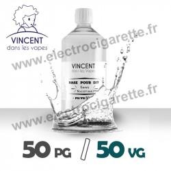 Base 50% PG / 50% VG - VDLV - 1 Litre