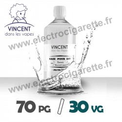 Base 70% PG / 30% VG - VDLV - 1 Litre
