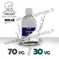 Base 70% PG / 30% VG - VDLV - 500 ml