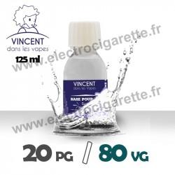 Base 20% PG / 80% VG - VDLV - 125 ml