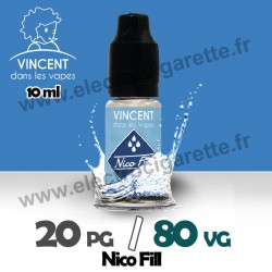 Nico Fill 20% PG / 80% VG - VDLV - 20 mg - 10 ml