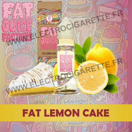 Fat Lemon Cake - Fat Juice Factory - Pulp - ZHC 50 ml
