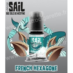 Classic French Hexagone - Sail de Avap - Sel de nicotine