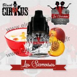 Pack de 5 flacons Les Siamoises - Black Cirkus by VDLV