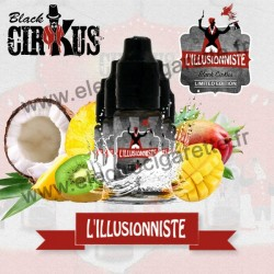 Pack de 5 flacons L'Illusioniste - Black Cirkus by VDLV