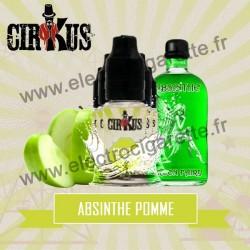 Pack de 5 flacons Absinthe Pomme - Cirkus by VDLV