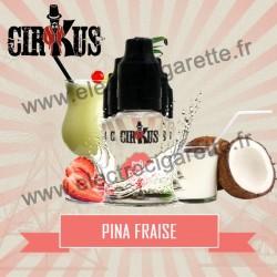 Pack de 5 flacons Pina Fraise - Cirkus by VDLV