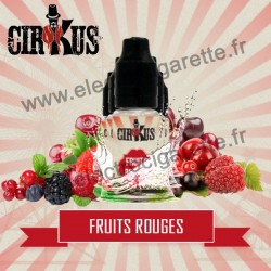 Pack de 5 flacons Fruits Rouges - Cirkus by VDLV