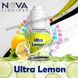 Pac 5 flacons Ultra Lemon - Nova Liquides Premium