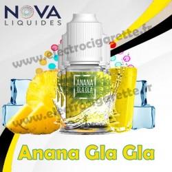 Pack 5 flacons Anana Gla Gla - Nova Liquides Premium