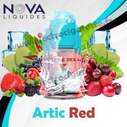 Pack 5 flacons Artic Red - Nova Liquides Premium
