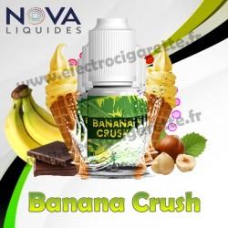 Pack 5 flacons Banana Crush - Nova Liquides Premium