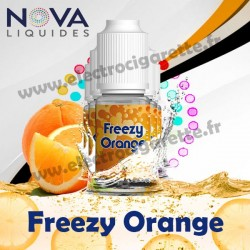 Pack 5 flacons Freezy Orange - Nova Liquides Premium