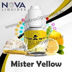 Pack 5 flacons Mister Yellow - Nova Liquides Premium