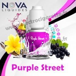 Pack 5 flacons Purple Street - Nova Liquides Premium
