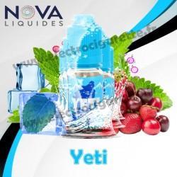 Pack 5 flacons Yeti - Nova Liquides Premium
