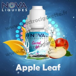 Pack 5 flacons Apple Leaf - Nova Liquides Galaxy