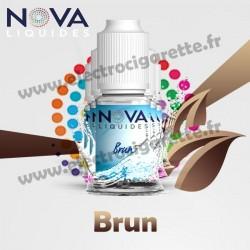Pack 5 flacons Brun - Nova Liquides Original