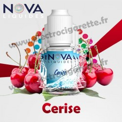 Pack 5 flacons Cerise - Nova Liquides Original