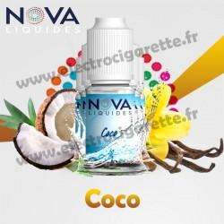 Pack 5 flacons Coco - Nova Liquides Original
