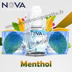 Pack 5 flacons Menthol - Nova Liquides Original