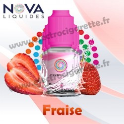 Fraise - Nova Liquides - 10ml