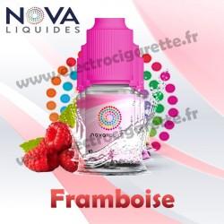 Pack 5 flacons Framboise - Nova Liquides