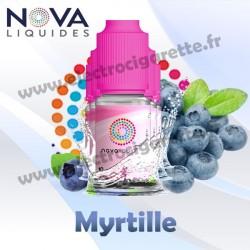 Pack 5 flacons Myrtille - Nova Liquides