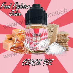 Pack 5 flacons Crack Pie - Food Fighter Juice