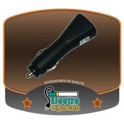 Chargeur USB voiture pour cigarette électronique