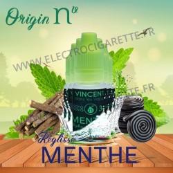Pack de 5 flacons Menthe Réglisse - Origin Nv by VDLV