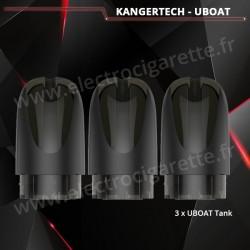3 x Pod Tank de rechange pour UBoat Kangertech