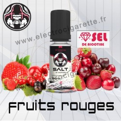 Fruits Rouges - Salt E-vapor - Aux sel de nicotine