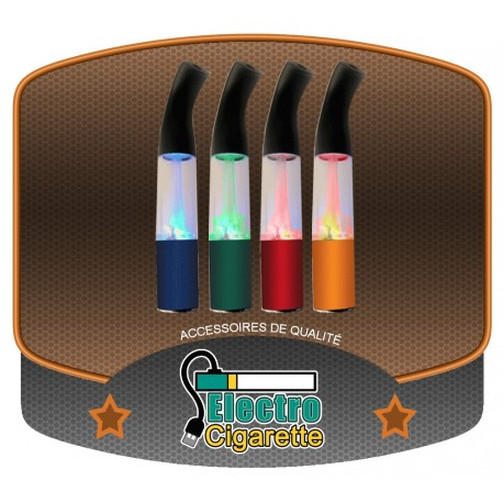 Clearomiseur Saxo T8 LED pour cigarette electronique eGo-T