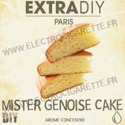 Mister Genoise Cake - ExtraDiY - 10 ml - Arôme concentré