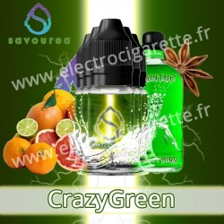 Crazy Green - Savourea Crazy - 5x10 ml