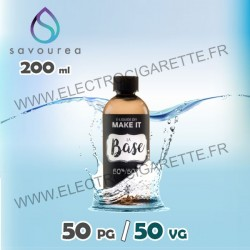 Base 200 ml - 0 mg - Make It by Savourea