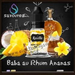 Baba au Rhum Ananas - La Recette Make It by by Savourea - Arôme concentré