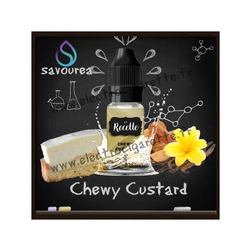 Chewy Custard - La Recette Make It by by Savourea - Arôme concentré