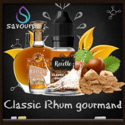 Classic Rhum Gourmand - La Recette Make It by by Savourea - Arôme concentré
