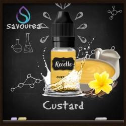 Custard - La Recette Make It by by Savourea - Arôme concentré
