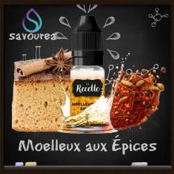 Moelleux aux épices - La Recette Make It by by Savourea - Arôme concentré