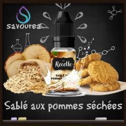 Sablé aux pommes séchées - La Recette Make It by by Savourea - Arôme concentré