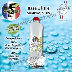Base 1 Litre - 0 mg - BioConcept