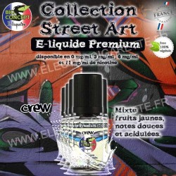 5 x Crew - Street Art - BioConcept Premium - 5x10 ml