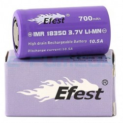 Efest Purple IMR 18350 - 700 mAh - 10.5 A