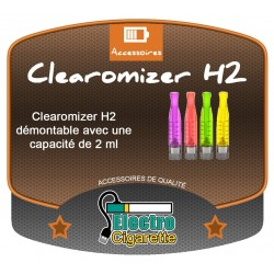 Clearomiseur H2 2 ml pour cigarette electronique eGo-T