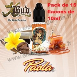 PACK DE 15x10 ml Paola - Dolls - Liquideo