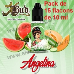 Pack de 15 flacons de 10 ml Angelina - Dolls - Liquideo